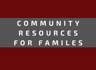Community Resources for Families during COVID-19