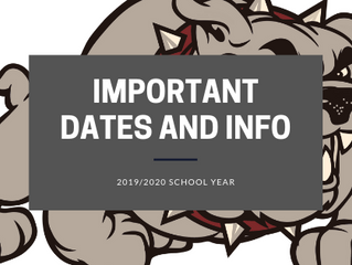 Important Dates and Summer Hours