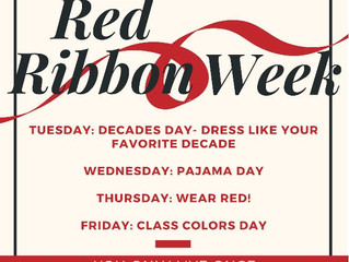 Red Ribbon Week Oct. 23rd-26th
