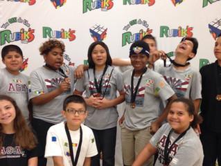 ACA Rubik's Cube Team Takes 3rd!