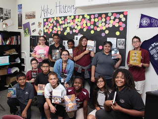 ACA's Historical Literacy Class Gets Donation to Buy Books