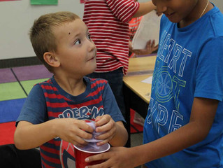 ACA Kindergartner's Learn About Their 5 Senses