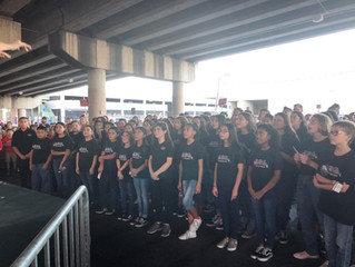 ACA Choir Sings at the DBacks Game!