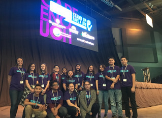 Students Participate in Speak Up, Stand Up Save a Life Conference