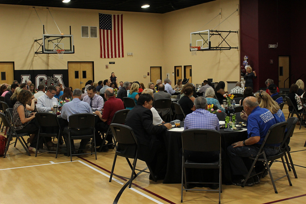 ACA gym packed for Community and Volunteer Appreciation Luncheon