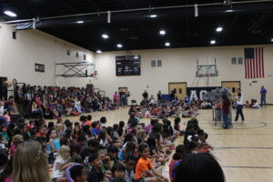 Student of the Month Assemblies a Part of ACA's Student Culture