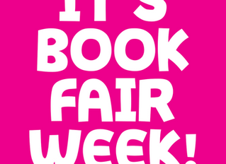 It's Book Fair Week!