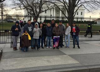 ACA Students Go To Washington D.C.!