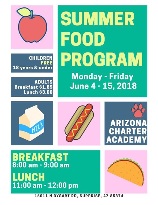 summer food program poster