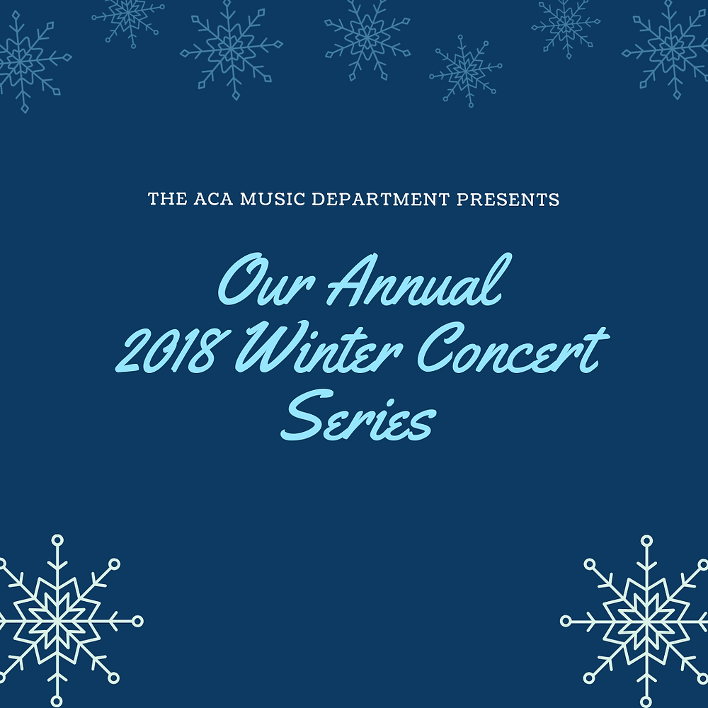 image for winter concerts