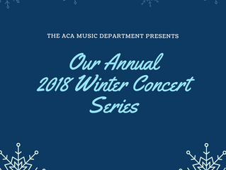 2018 Winter Concerts