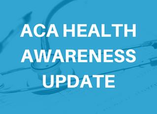 Important ACA Health Awareness Update