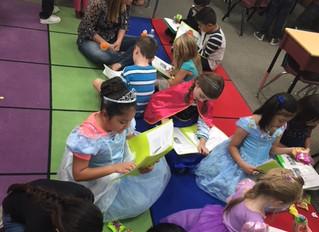 1st Grade Literacy Dress Up Project