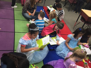 1st Grade Literacy Dress Up Project