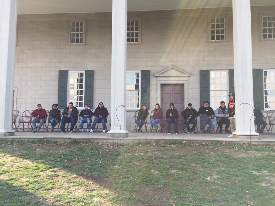 Students at Mount Vernon.