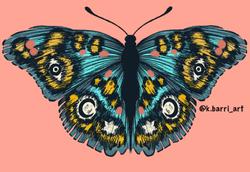 Mystic butterfly - Katia Barria