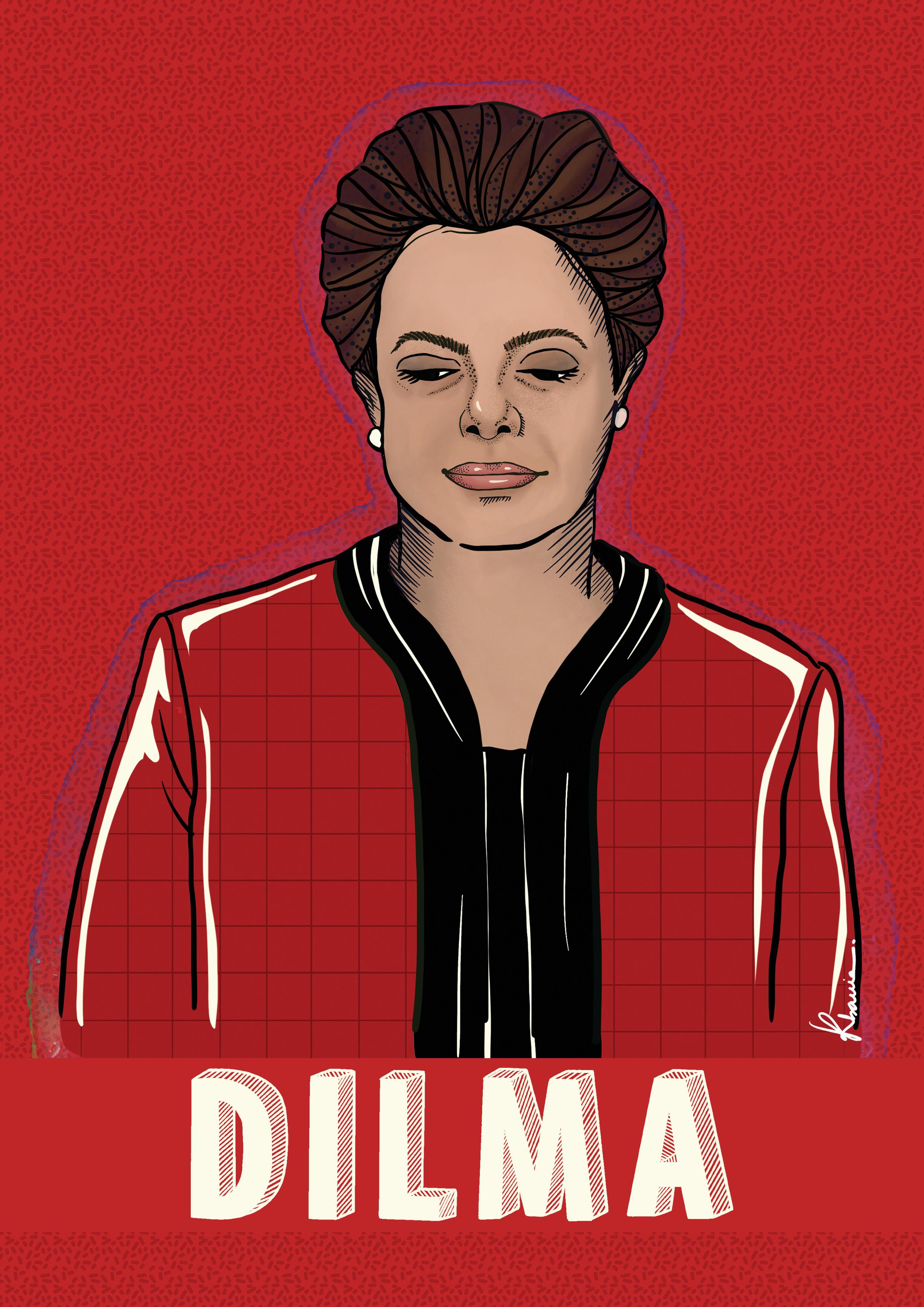 Dilma by Katia Barria