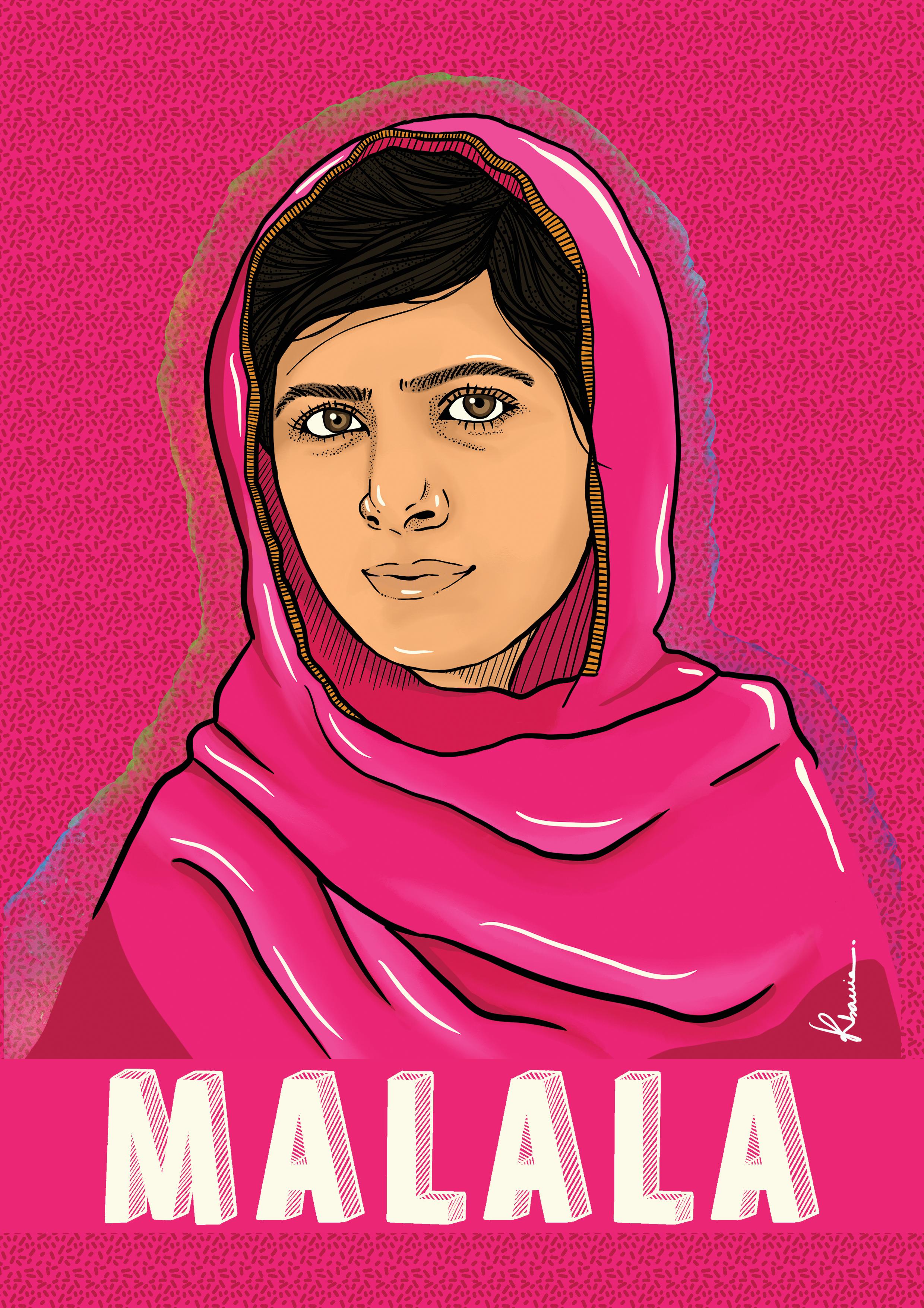 Malala by Katia Barria