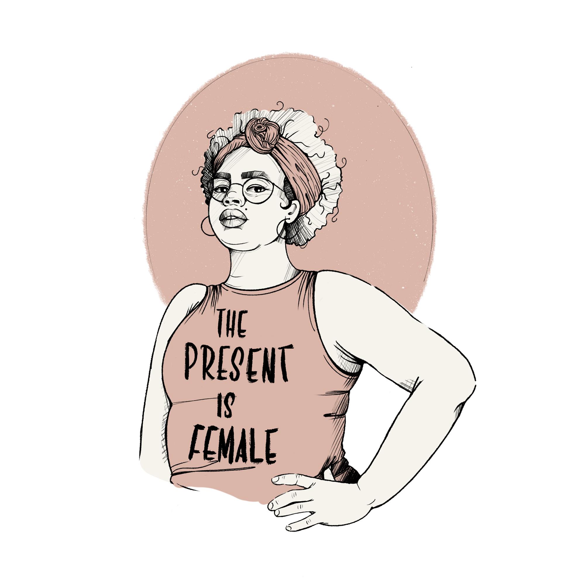 The future is female - Katia Barria