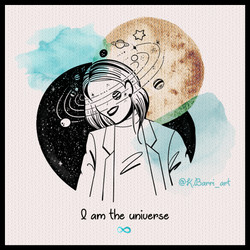 I am the universe - Katia Barria