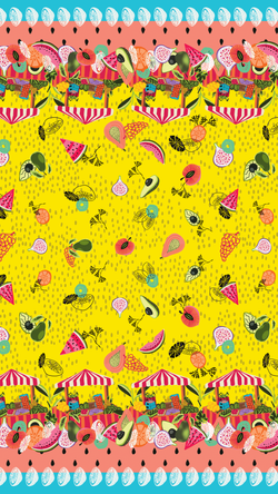 Print Fruit Market - K.Barria