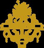 Frohes Neues Jahr Gold-Abzeichen