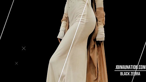 Cream Pearl Embellished Dress