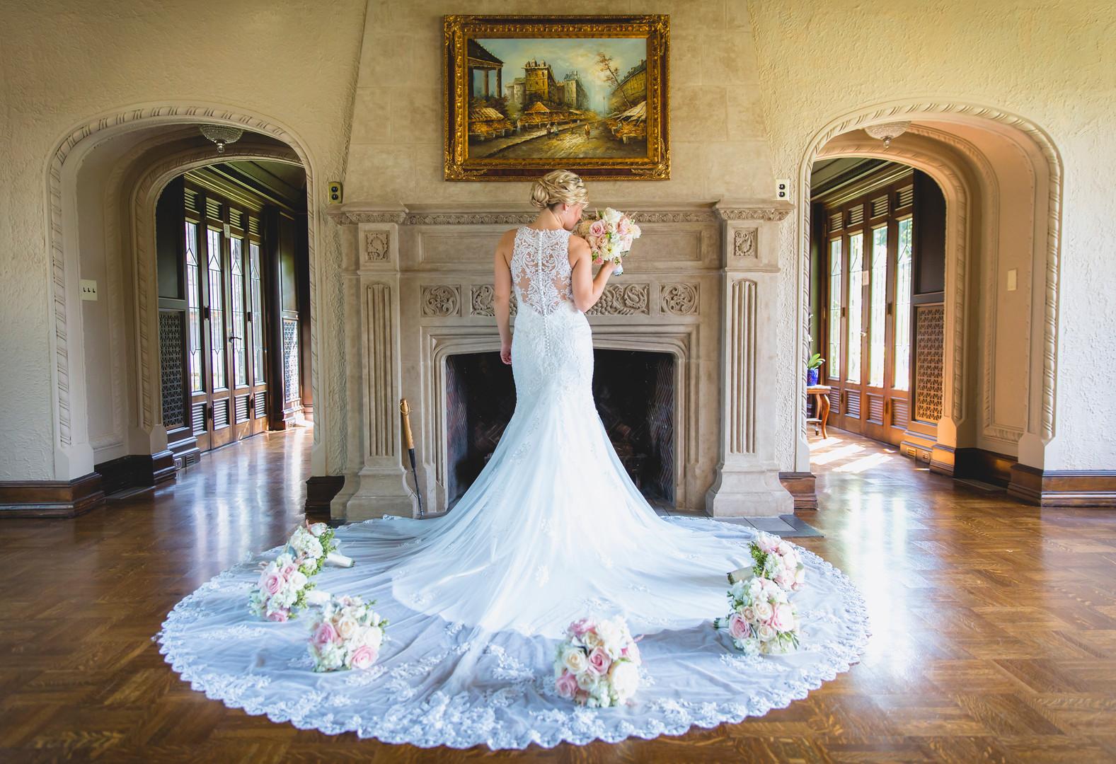 Low Martin Mansion wedding