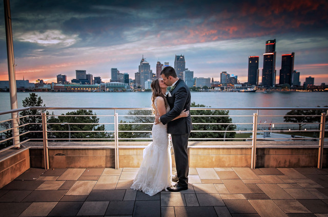 St. Clair Centre for the Arts wedding