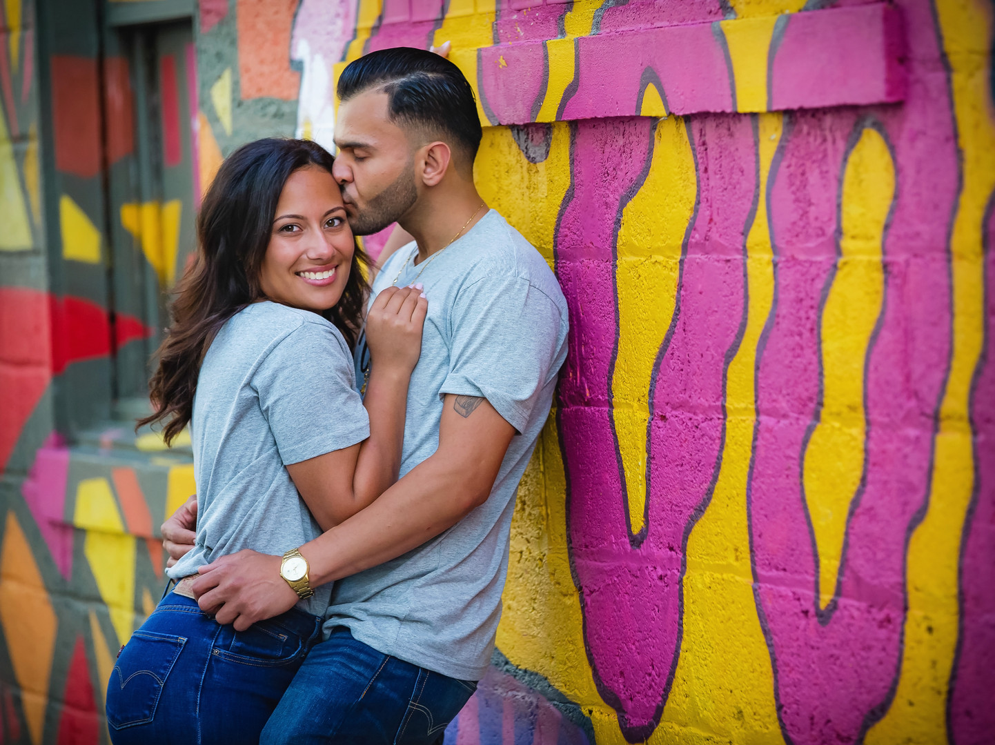 Downtown windsor engagement