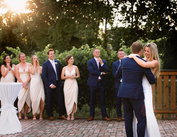 Pelee Island Winery wedding