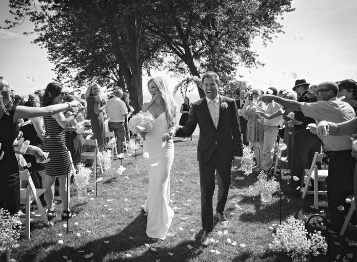 Lakeside park wedding