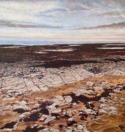 peinture plage de Montamer
