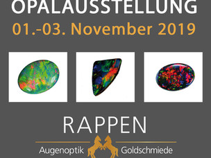 Opalausstellung 01.-03. November 2019