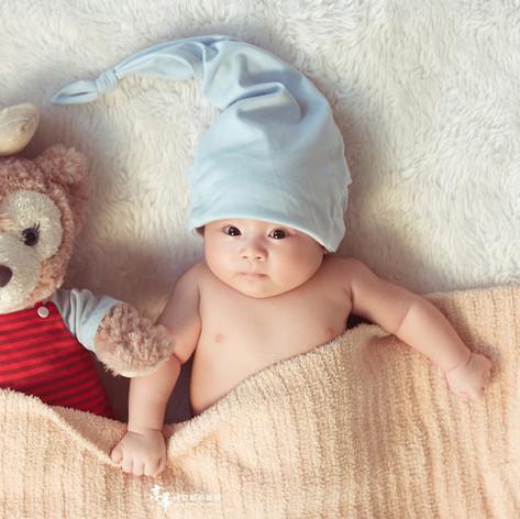 新竹京華創意兒童寫真會館|新生兒寫真