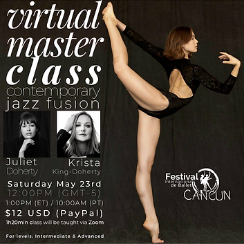 juliet krista cbf virtual master class 2