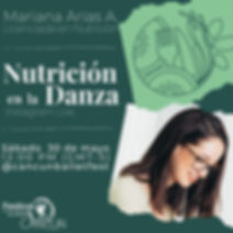 Instagram takeover nutricion mariana ari