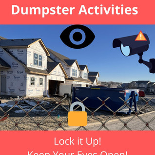 How To Stop Illegal Dumpster Disposal