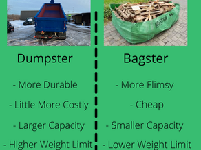 Dumpster or Bagster,     What's the Difference?