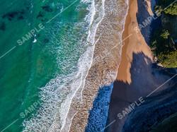 New Zealand Coastline Drone Aerial Photograph