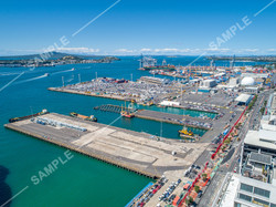 Port of Auckland Aerial