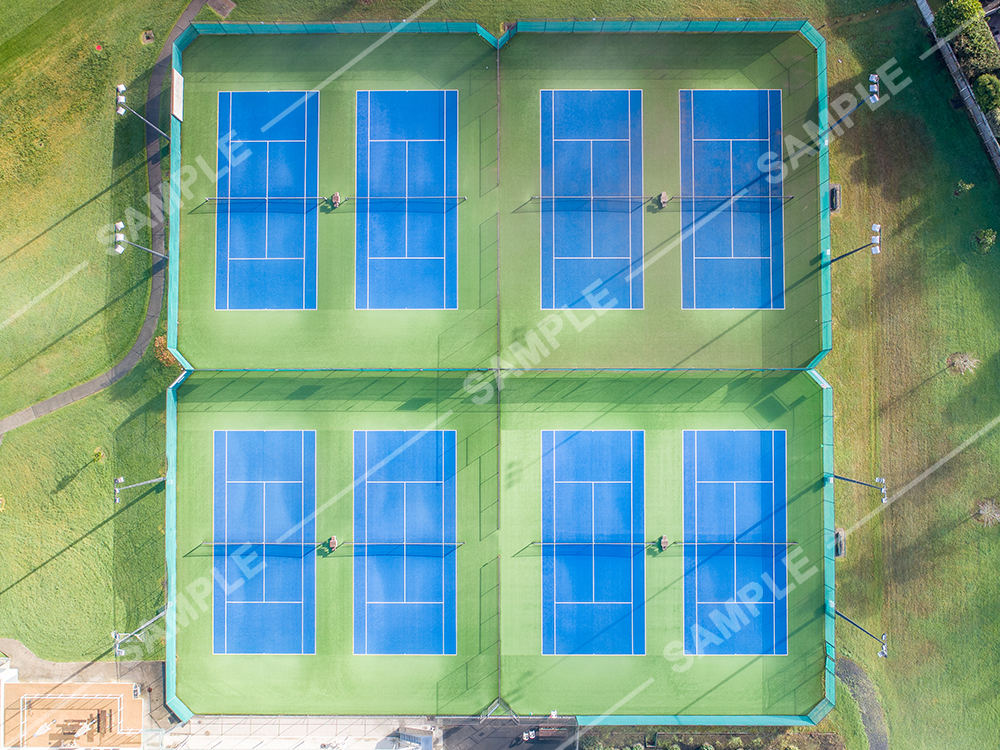Tennis Court Vertical
