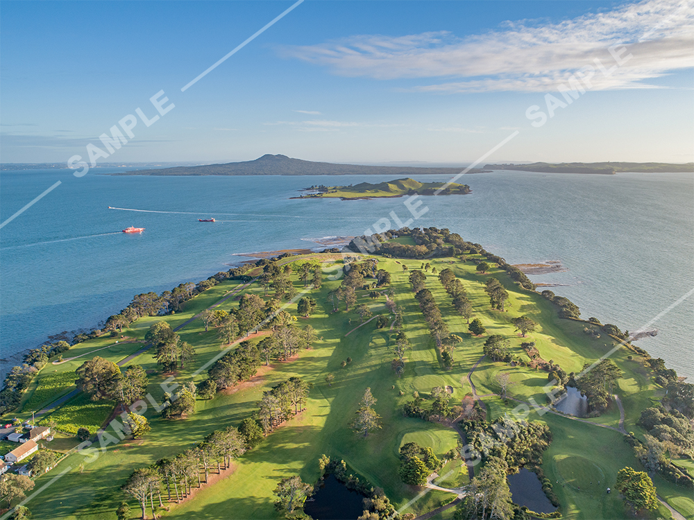 Musick Point Golf Course Aerial