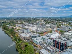 Hamilton CBD Drone Aerial