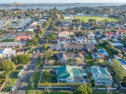 Suburban Auckland Aerial