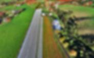 aerial view waiheke vineyard