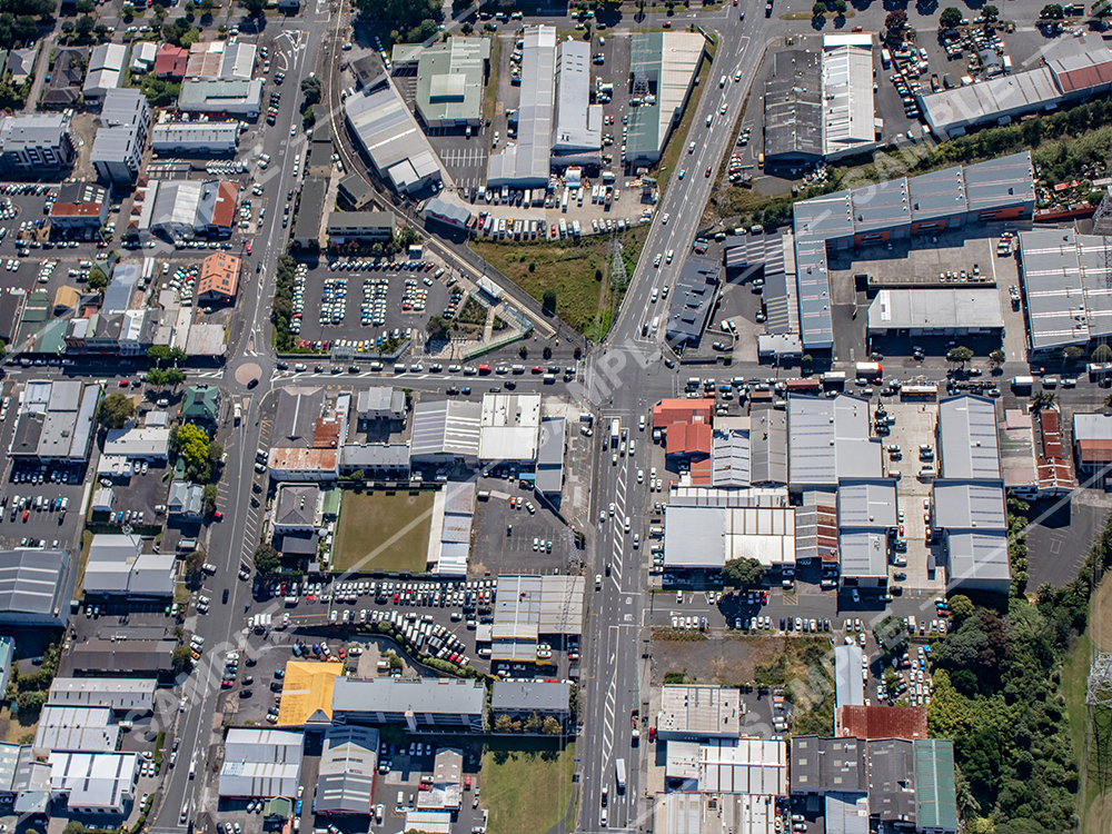 Auckland Street Aerial