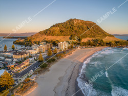 Mount Maunganui Drone Aerial Photograph