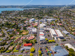 Howick Village Drone Aerial Photograph