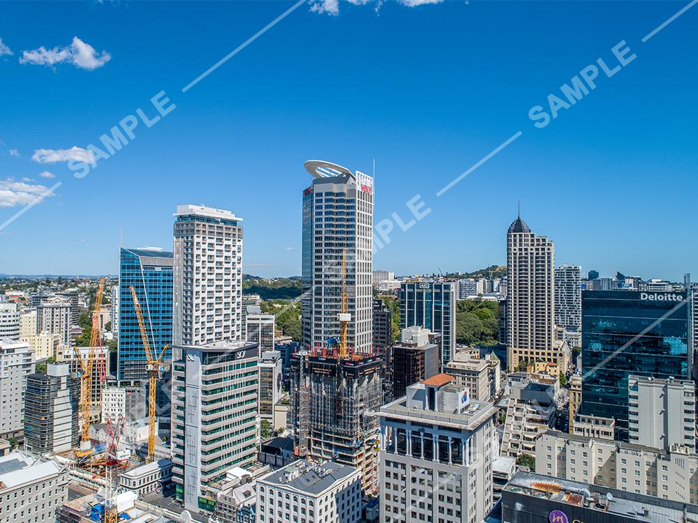 Auckland CBD Aerial